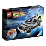 Juego De Construcción Lego The Delorean Time Machine