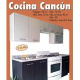 Cocina Integral Modelo Cancún
