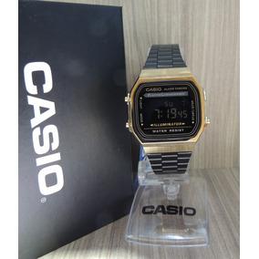 073bdf4428a Casio Vintage Modelo 158w Dourado - Relógios De Pulso no Mercado ...