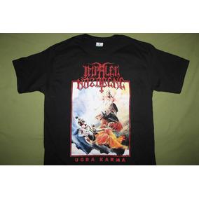 Gusanobass Playera Rock Metal Impaled Nazarene Ugra Black