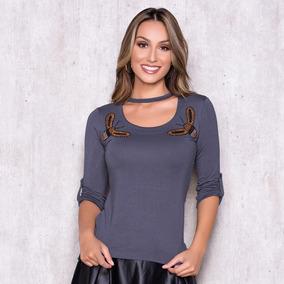 Blusa Com Gola Oriental Tamanho M - Blusas para Feminino em Cianorte ... 7107ccf2dd5