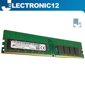 Micron 16gb Pc4-17000 Ddr4-2133mhz Ecc Unbuffered Cl15 288p