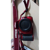 Nikon D3100 Digital Slr Cámara Cuerpo ( Rojo )