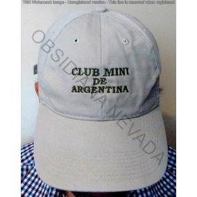 Usado - Capital Federal · Gorra Visera Hombre Club Mini Argentina Excelente  Usada 2008 a3deb794967