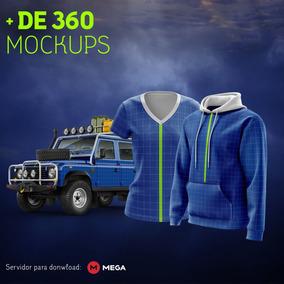 360 Mockups Yellow - Diversas Catergorias.