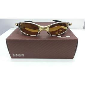 Oculos (( Oakley )) Double X 24k Gold Replica 1 Linha - Óculos De ... e346be31b1