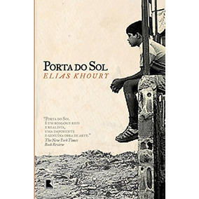 Livro Porta Do Sol Elias Khoury