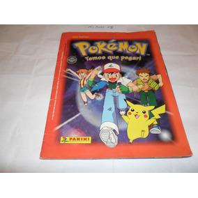 Álbum Pokémon (temos Que Pegar!) - Ano 1999 - Panini - A18