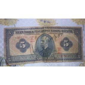 Notas De Dinheiro Antigas (raridades)