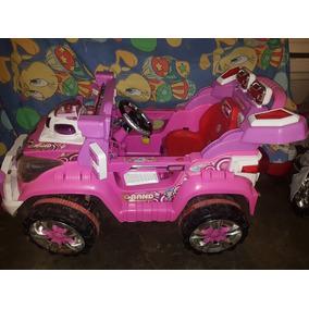 Carro Jeep De Batería Para Niña