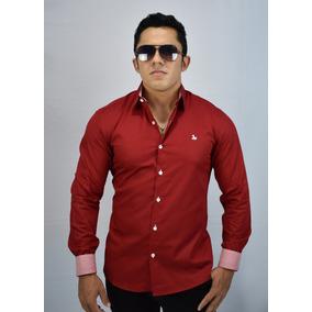 Camisa Social Masculina Slim Fit Camisas Masculinas Luxo!!