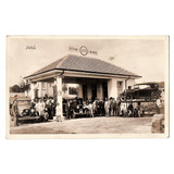 Cartao Postal Posto Gasolina Standard Esso Jau - Anos 20