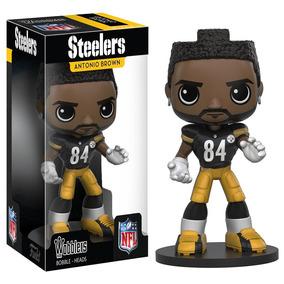 Funko Pop Wobblers Nfl Antonio Brown 84 Pittsburgh Steelers