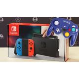 Nintendo Switch En Combo 4 Juegos, Estuche Y Control
