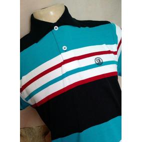 Camisa Polo Smith Brothers Listrada Ref 3531 Azul bco vinho 09c1d7ef7853a