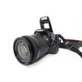 Camara Profesional Canon Eos Rebel Sl1 + Memoria De 32gb