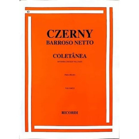 Livro Czerny Coletanea Barroso Netto Vol 2