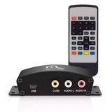 Conversor Tv Digital Automotivo Veicular Dvd Carro