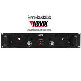Amplificador Potência 500w Rms Novik Neo Novo 500 + Nf