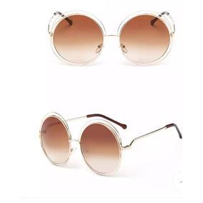 43d8600ad63ae Oculos De Sol Vintage Oversized - Óculos no Mercado Livre Brasil