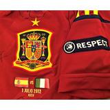 Camisa Espanha Euro 2012 - Camisa Espanha Masculina no Mercado Livre ... 112be2b01a686