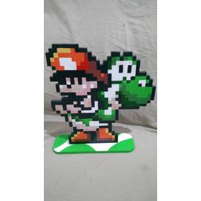Yoshi Sland Super Nintendo Decorativo
