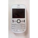 Nokia Asha 200 Rm-761 Com Defeito. Para Retirar Peças.