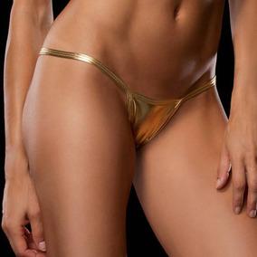 Sexy Mini Tanga Amarillo Talla Chica /mediana