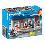 Playmobil 5299 Maletin Estacion De Policia Intek Mundomanias
