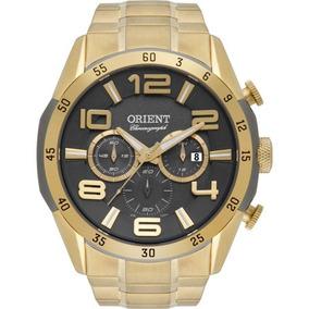Relógio Masculino Orient Mgssc015 G2kx Analógico Cronógrafo