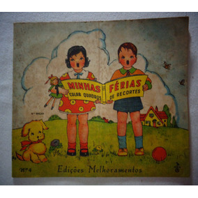 Revista Infantil Recorte Colagem Desenhos