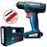 Parafusadeira Furadeira Smart Bosch 12v Maleta Gsr1000 Smart