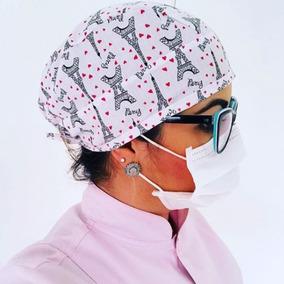 Touca Cirurgica Personalizada Toucas - Acessórios da Moda no Mercado ... e0bb0732695