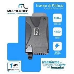 Kit 05 Inversor Conversor Veicular 150w 12v P/ 110v - Au900
