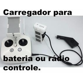 Carregador Veicular Bateria Phantom 3 Rádio P3 Pro Advanced