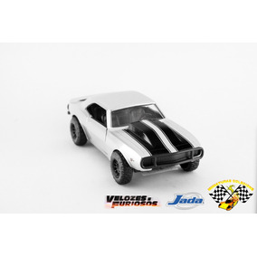 Miniatura Velozes& Furiosos Chevy Camaro 1967 1:32 Roman
