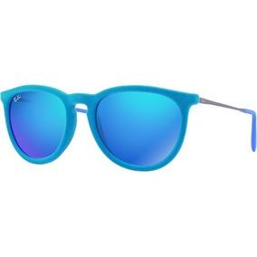 850b10175d1a4 Rayban Veludo Azul De Sol Ray Ban - Óculos no Mercado Livre Brasil