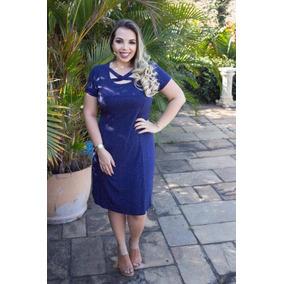 Vestidos azul petroleo curto