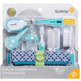 Kit Higiene E Beleza Para Seu Bebê 25 Peças 1st Azul Ori Eua