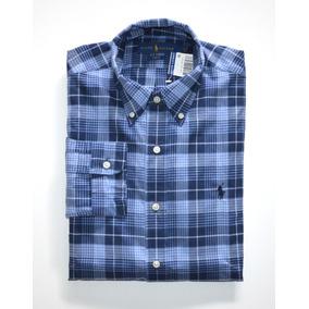 bd3d9e74c8 Camisa Social Polo Ralph Lauren Tamanho Ggg   Xxl Slim Fit