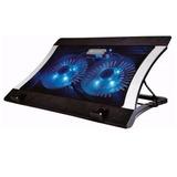 Ventilador Laptop Base Enfriadora Usb Metal Naceb Na-636