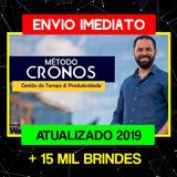 Metodo Cronos Wendell Carvalho Atualizado 2019 +brindes