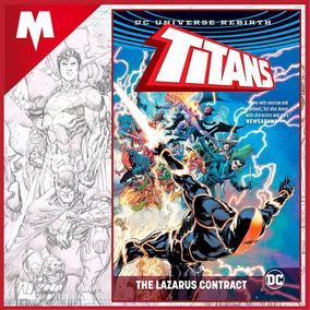 Titans The Lazarus Contract Hc Dc Comics Rebirth Inglés