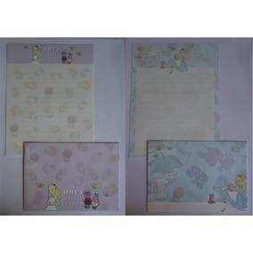 Conjuntos Papel De Carta Alice Importado Disney Lote 168