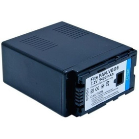 Bateria P/ Panasonic Cga-e/625 Cga-e625 Vw-vbg6 Vw-vbg6-k