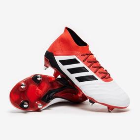 Botines Adidas Cuero Canguro Blancos - Botines en Mercado Libre ... ea0a5d223470e