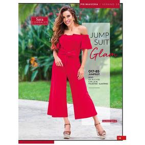 Jumpsuit Rojo 017-85 Cklass Primavera-verano 2019