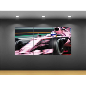 Cuadro Decorativo Formula Uno F1 Force India Checo Pérez 554cb1ea93e35