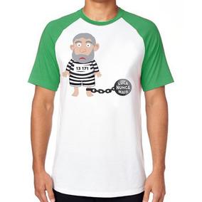 601ccdc61e Camisa Camiseta Pt Partido Dos Trabalhadores Retrô - 6 Cores. 27 vendidos -  Minas Gerais · Camiseta Lula Prisão Pt Preso Blusa Manga Curta Tamanho