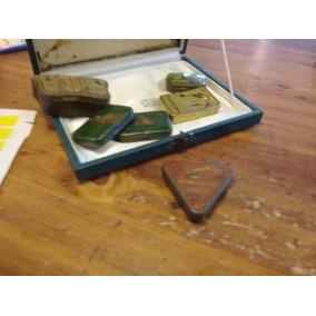 Antigua Caja De Puas Extra Lanza Fonografo Vitrola Con Puas